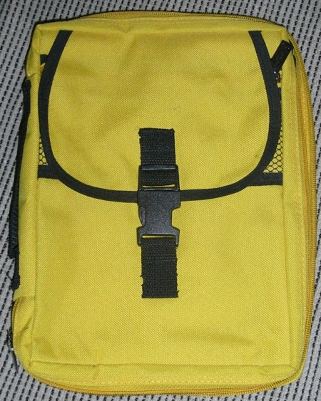 Nylon bible case front