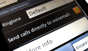 Send calls directly to voicemail